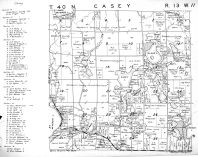 Casey Township, Washburn County 1952